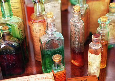 Photograph - Pharmacist - The Druggist And His Cures by Mike Savad
