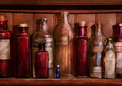 Wizard Photograph - Pharmacy - From Antacids To Antiseptics by Mike Savad