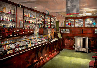 Photograph - Pharmacy - We Have The Solution 1934 by Mike Savad