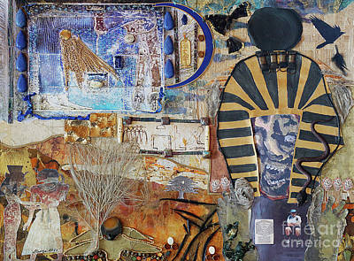 Mixed Media - Pharaonic Fantasies by Stanza Widen
