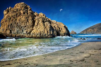Pheiffer Beach - Keyhole Rock #10- Big Sur California Art Print
