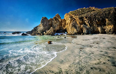 Coast Hwy Ca Photograph - Pheiffer Beach #5 - Big Sur California by Jennifer Rondinelli Reilly - Fine Art Photography
