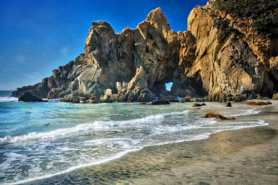 Coast Hwy Ca Photograph - Pheiffer Beach #6 - Big Sur California by Jennifer Rondinelli Reilly - Fine Art Photography