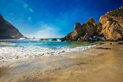 Coast Hwy Ca Photograph - Pheiffer Beach #7 - Big Sur California by Jennifer Rondinelli Reilly - Fine Art Photography