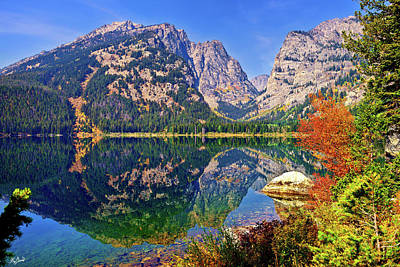 Limited Edition Photograph - Phelps Lake Limited Edition by Greg Norrell