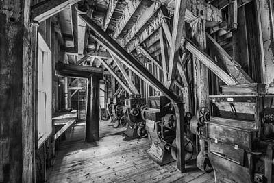 Milling Machine Photograph - Phelps Mill by Paul Freidlund
