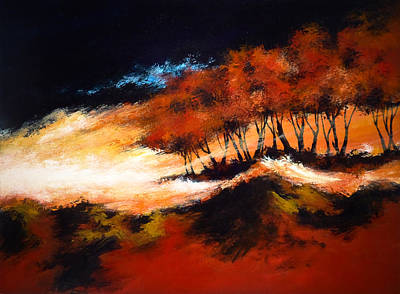 Abstact Landscapes Painting - Phenomena 2 by DEVARAJ DanielFranco