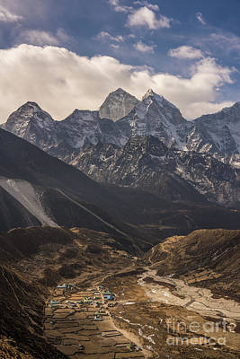 Photograph - Pheriche In The Valley by Mike Reid