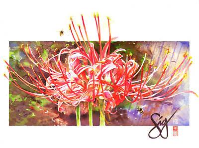 Painting - Pheromones by Sigrid Tidmore