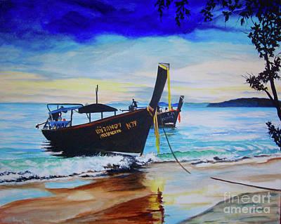 Painting - Phi Phi by Stuart Engel
