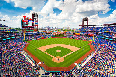 Philadelphia Phillies Art Print by Aaron Couture