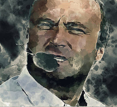 Concert Digital Art - Phil Collins Forever by Yury Malkov