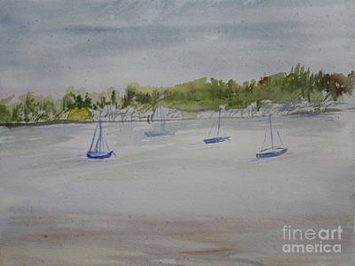 Painting - Phil Foster Beach by Donna Walsh