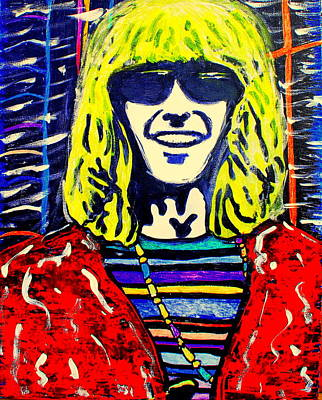 Painting - Phil Lesh by Gayland Morris