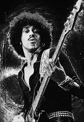 Digital Art - Phil Lynott by Taylan Apukovska