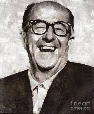 Actors Royalty-Free and Rights-Managed Images - Phil Silvers, Actor, Comedian by Mary Bassett