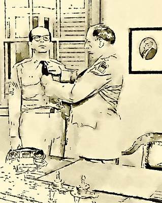 Television Painting - Phil Silvers Sargent Bilko by John Springfield