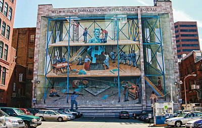 Photograph - Philadelphia Mural 7 by Allen Beatty
