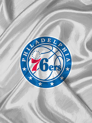 Philadelphia 76ers Art Print by Afterdarkness