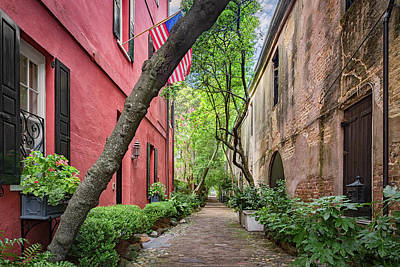Philadelphia Alley  Art Print