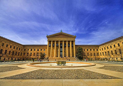 Phillies Photograph - Philadelphia Art Museum by Evelina Kremsdorf