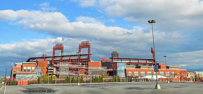 Philadelphia Phillies Stadium Photograph - Philadelphia Baseball - Citizens Bank Park by Bill Cannon
