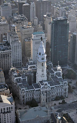 Calder Style Photograph - Philadelphia City Hall 0443 by Duncan Pearson
