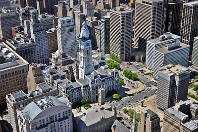 Philadelphia City Hall Broad St And Market St Philadelphia Pennsylvania 19107 Original by Duncan Pearson
