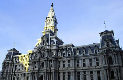 Photograph - Philadelphia City Hall  by Matt Harang