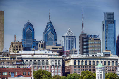 Photograph - Philadelphia Cityscape 2 by David Zanzinger