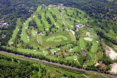 Philadelphia Cricket Club Militia Hill Golf Course Holes 3 4 5 6 7 8 And 9 Art Print by Duncan Pearson