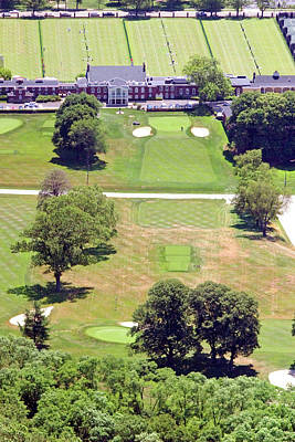 Philadelphia Cricket Club St Martins Golf Course 9th Hole 415 W Willow Grove Ave Phila Pa 19118 Art Print by Duncan Pearson