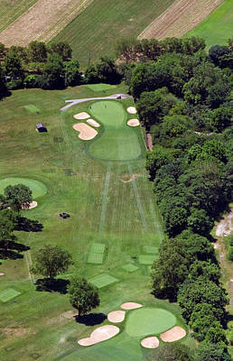 Photograph - Philadelphia Cricket Club Wissahickon Golf Course 15th Hole by Duncan Pearson