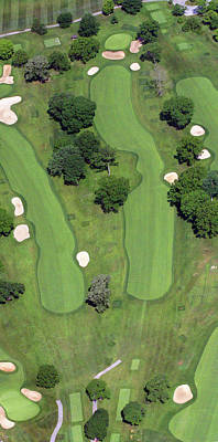 Photograph - Philadelphia Cricket Club Wissahickon Golf Course 4th Hole by Duncan Pearson