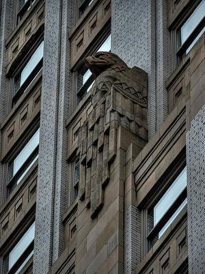 Photograph - Philadelphia Deco Eagle 001 by Lance Vaughn