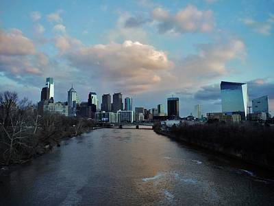 Photograph - Philadelphia Down The Schuykill by Ed Sweeney