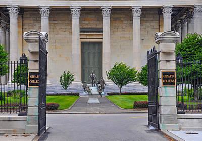 Phillies Digital Art - Philadelphia - Girard College by Bill Cannon