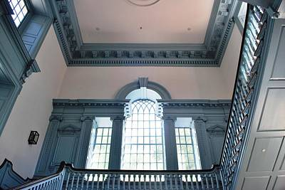 Photograph - Philadelphia Independence Hall Interior by Matt Harang