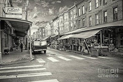 Philadelphia Italian Market Photograph - Philadelphia Italian Market  1 by Jack Paolini