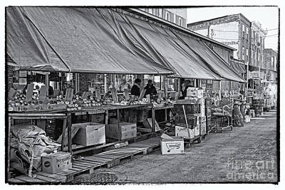 Philadelphia Italian Market Photograph - Philadelphia Italian Market 3 by Jack Paolini