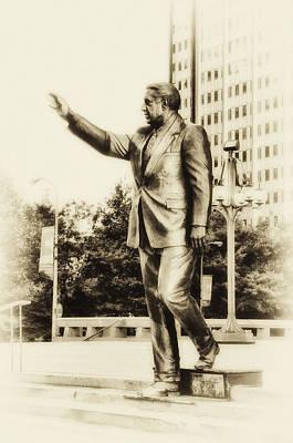 Philadelphia Mayor - Frank Rizzo Print by Bill Cannon