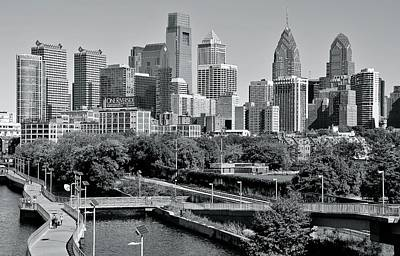 Photograph - Philadelphia Monochrome City by Frozen in Time Fine Art Photography