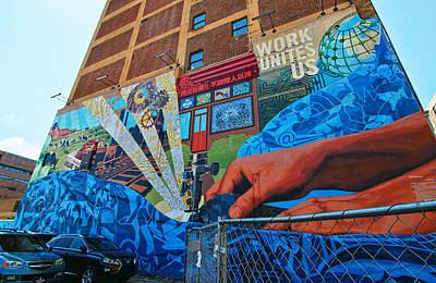 Photograph - Philadelphia Mural 6 by Allen Beatty
