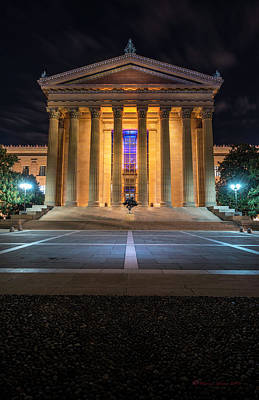 Photograph - Philadelphia Museum by Marvin Spates