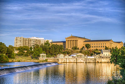 Photograph - Philadelphia Museum Of Art by David Zanzinger