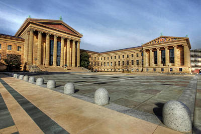 Photograph - Philadelphia Museum Of Art by Lori Deiter