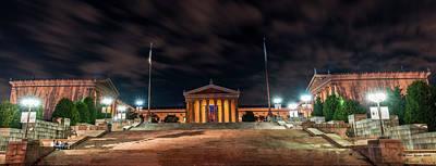 Art Print featuring the photograph Philadelphia Museum Of Art by Marvin Spates