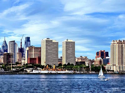 Photograph - Philadelphia Pa Skyline by Susan Savad