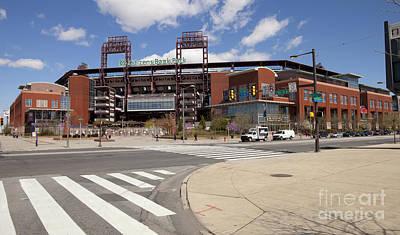 Citizens Bank Park Photograph - Philadelphia Phillies' Citizens Bank Park by Anthony Totah