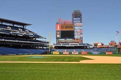 Photograph - Philadelphia Phillies Stadium  by Brynn Ditsche